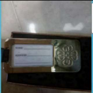 Luggage Tag In Gift Box