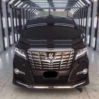Toyota Alphard 2.5 for rent
