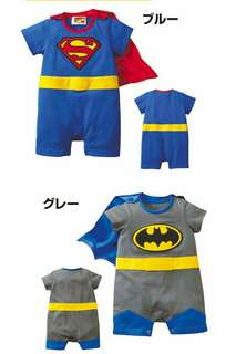 SUPER BABY ROMPER WITH CAPE