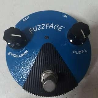 Dunlop Fuzzface Mini Silicon Guitar Fuzz Pedal
