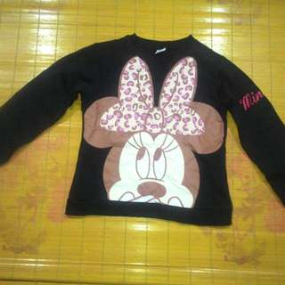 sweater minnie mouse