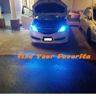 Toyota Wish on T10 super bright CREE project lens for pole light/small position light - CASH&CARRY ONLY.