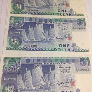 (READ!)1 DOLLAR NOTE SHIP SERIES