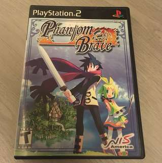 PS2 Phantom Brave (with sound track)