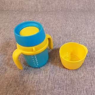 Tupperware training sipping cup