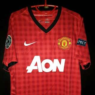 Jersey Manchester United Home 2012 - Rooney (Size S)