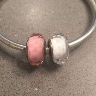 💖Pandora 💖Faceted Murano Charms