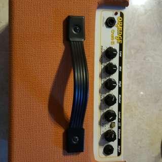 Orange guitar amplifier