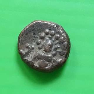 South India Copper Madurai Tanjore Arcot Vijayanagar Mysore Shivaganga Beautiful vintage Copper Coin Medieval ( 400 - 200 Years old ) - st018