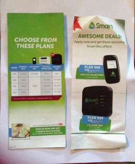 Smart Promo...!!!  Smart Bro LTE Pocket Wifi Plan 499, 599, 799, 999