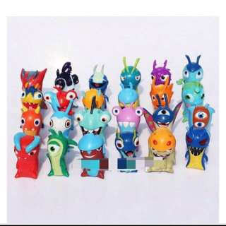 Instocks Slugterra Figurines