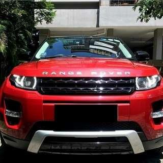 Range Rover Evoque SG