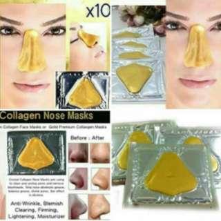 Masker hidung gold