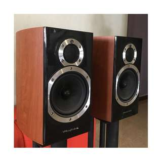 Whafedale Diamond 10.1 bookshelf speakers