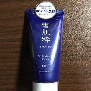 Sekkisui White Washing Cream