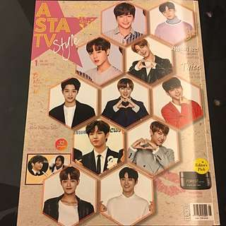 ASTA TV 01/2018 Vol.117 - Wannaone