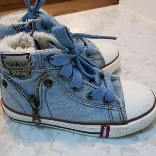 Winter Fashion Children Girl boots shoes