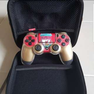 PS4 Controller - Gold Playstation Controller ( Liverpool Fan )