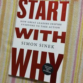 Start With Why (Simon Sinek)