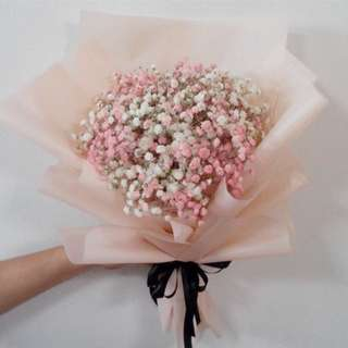 Baby Breath Bouquet Valentine's Day