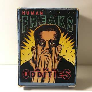 Human Freaks and Oddities Vintage Card Set (Series 3)