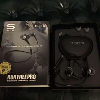 Soul run free pro Bluetooth 運動藍芽耳機