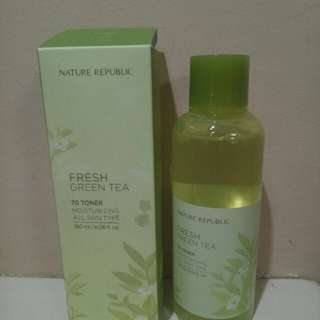 Fresh green tea 70 toner