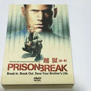 6DVD•30% OFF GREAT CNY GIFT/SALE {DVD, VCD & CD} PRISON BREAK : Break In. Break Out. Save Your Brother's Life SEASON ONE 越狱【第一季】- 6DVD