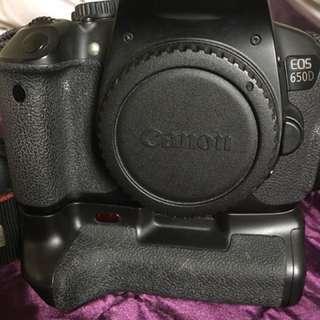 Canon 650d 機身