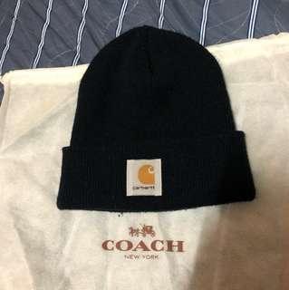 隨便賣 正品Carhartt 黑色毛帽