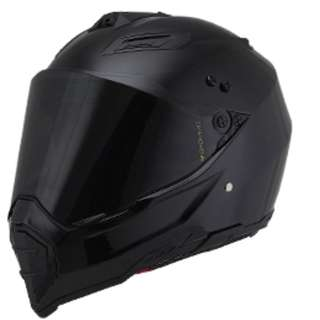 HELMET fullface Crosscountry Black Matte