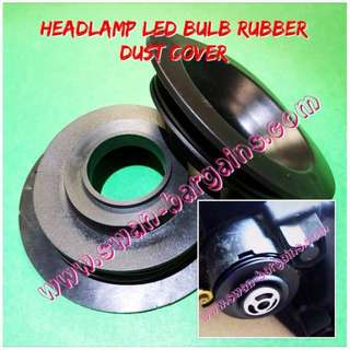 2pcs Universal Car H1 H3 H4 H7 LED Headlight Bulb Rubber Dust Cover Set