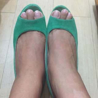 bologna wedge heels