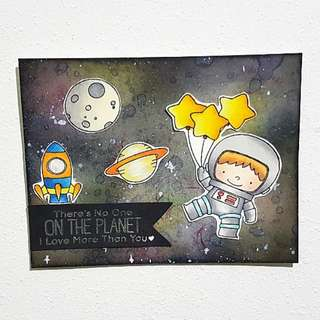 """Space Explorer"" Card"