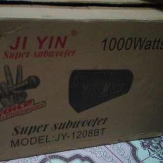 JI YIN Super sub woofer,, 1000watts