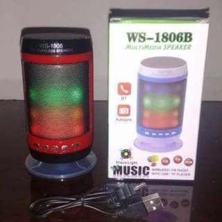 Speaker Bluetooth Ws 1806