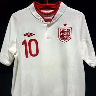 Jersey England Home EURO 2012 - Rooney (Size S)