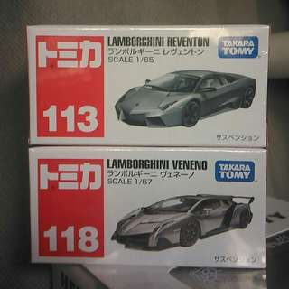 全新正版 Tomica no.113 118 林寶堅尼 Lamborghini #mayflashsale