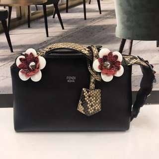 Fendi by the way mini Flowerland Cross Body Bag