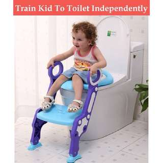[FREE POSTAGE SM] Foldable baby training toilet seat