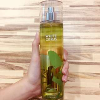 "Bath and Body Works Fine Fragrance Mist ""White Citrus"" 236mL"