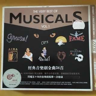 Musicals Cd