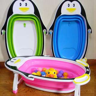 [FREE POSTAGE SM] Baby Folding Bath Tub