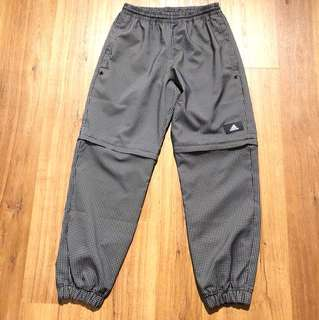 BN Adidas Limited Ed Zip off jogger pants