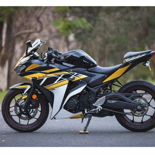 YZF R3  Custom Graphic design and body decal print