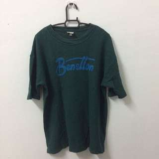 Benetton Embroidered Tshirt