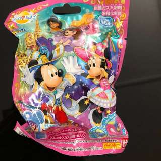 Brand New Japan Bath Ball - Sanrio Character/ Disney Princess