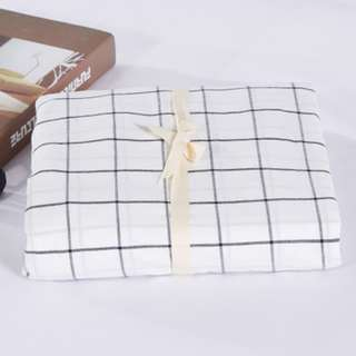 Japanese Minimalist Fitted Cotton Bedsheets
