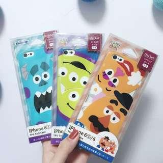 Disney iPhone 6/6S case 薯蛋頭/毛毛/三眼仔