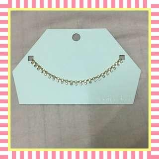 Forever21 Elegant Stud Necklace (Gold)